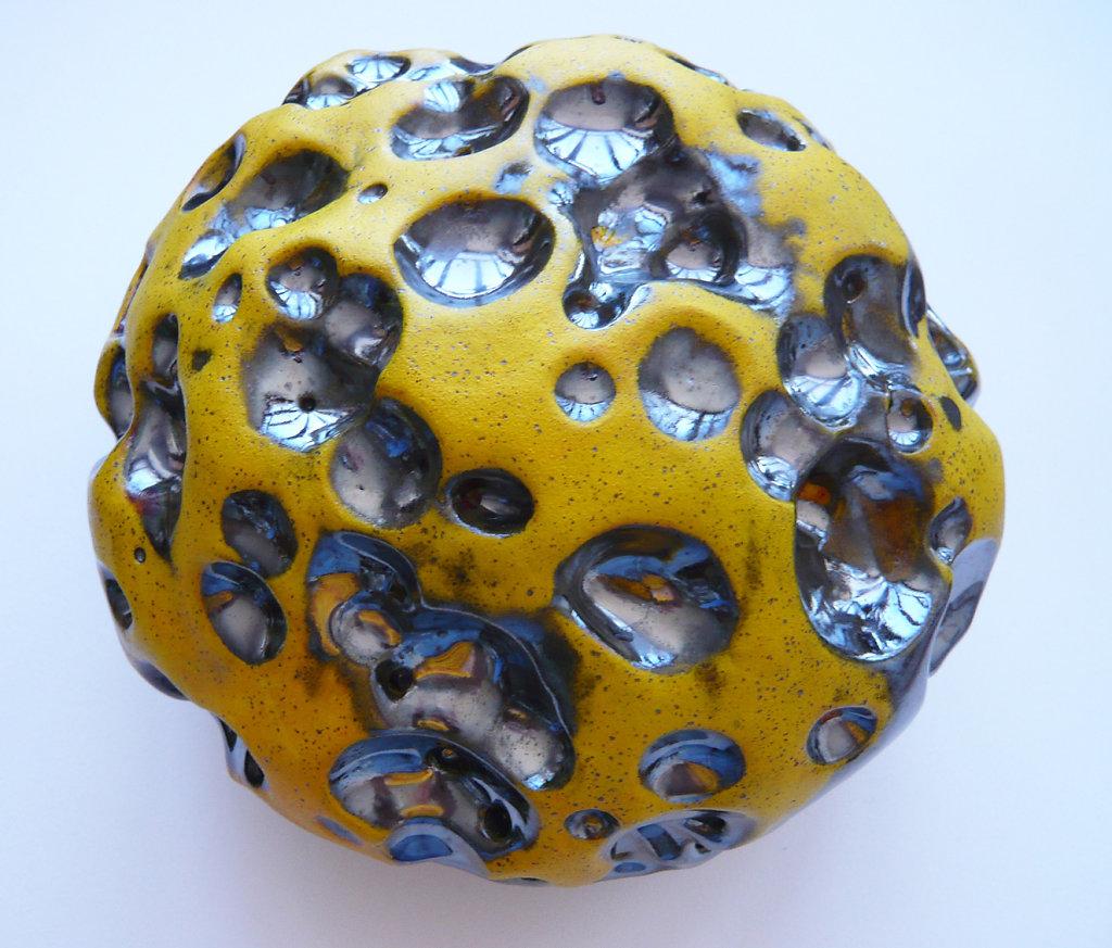 Ablated meteorite